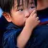 Little boy in Bon Odori