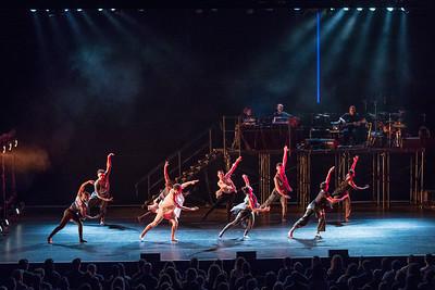 "Bon Iver and TU Dance perform ""Come Through"" at Mass MoCA in North Adams MA."