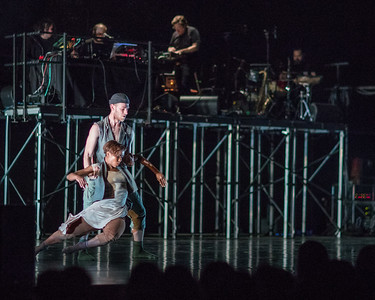 "Bon Iver and TU Dance perform ""Come Through"" at Mass MoCA in North Adams MA."