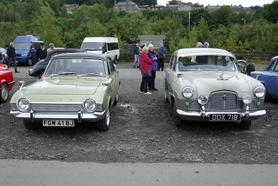 Car show, Bo'ness station