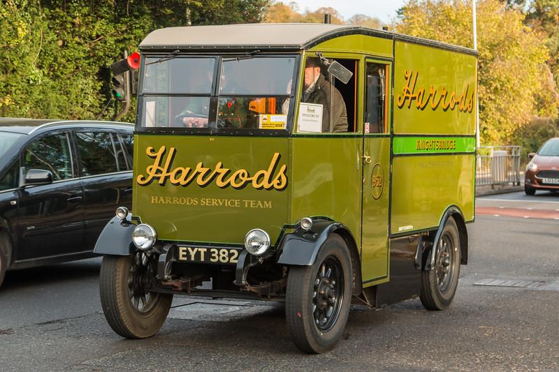 1938 Harrods Electric Van
