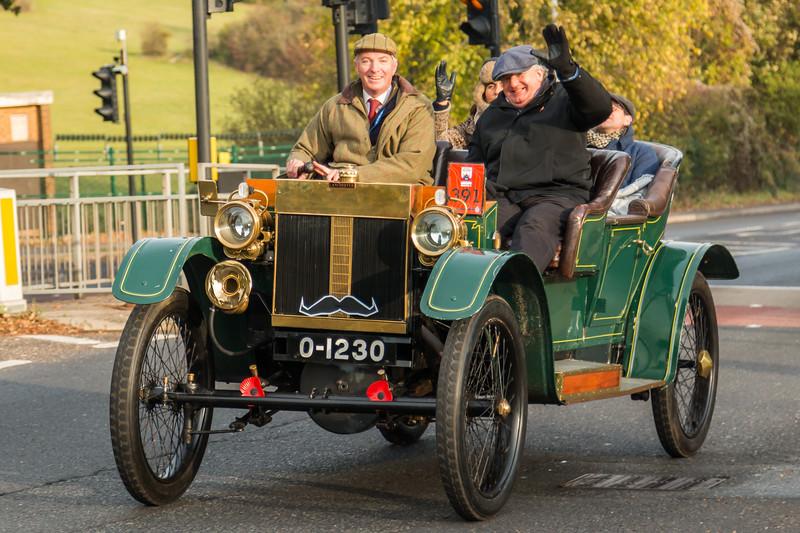 1904 Lanchester Demi Limousine