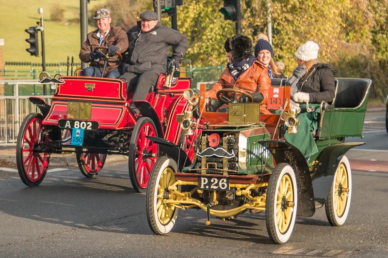 1902 Dennis Tonneau and 1902 Albion Dogcart