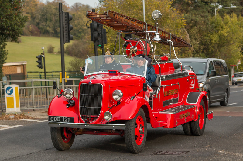 1937 Fordson E27N Fire Engine