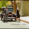 Bonnie and Clyde entering the bank ..