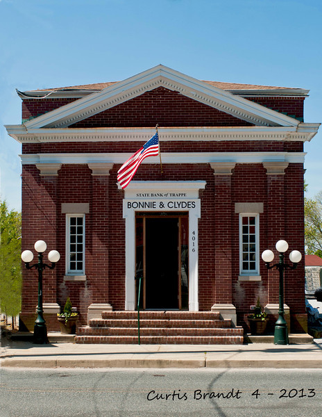 State Bank of Trappe     /   Bonnie & Clydes