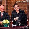 Bono @ Georgetown. Photo by Tony Powell. Noember 12, 2012