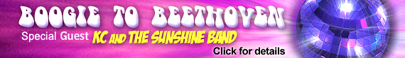Boogie to Beethoven  - KC & the Sunshine Band - Woodlands Center