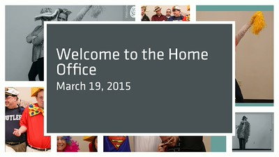 ECU Home Office Welcome