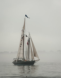 Windjammers in Boothbay Harbor Maine