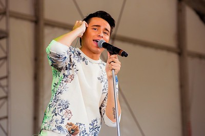 Jordan McIntosh Performs at Boots & Hearts 2016