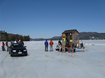 Boston BMWCCA Ice Racing on Newfound Lake