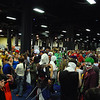 The crowd at Boston Comic Con.