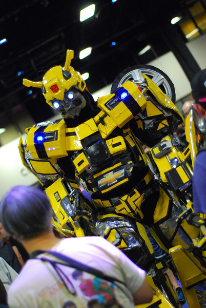 Bumblebee from Transformers was a huge hit.