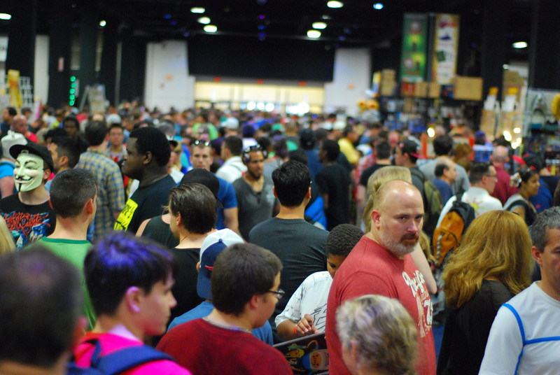 Thousands of geeks.