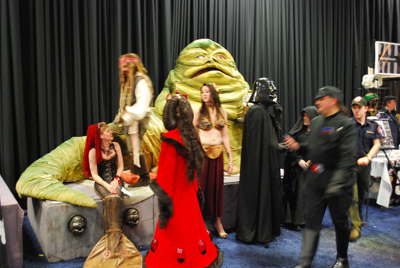 There was some sort of weird Pirates of the Caribbean, Star Wars, Steampunk Mermaid mashup going on here.