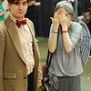 The 11th Doctor and his Weeping Angel girlfriend. How does that relationship even work?