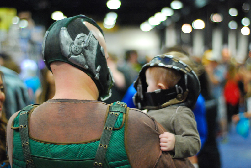 Bane and Baby Bane.