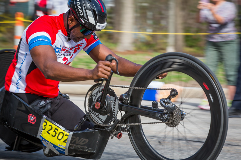 Handcycle Race