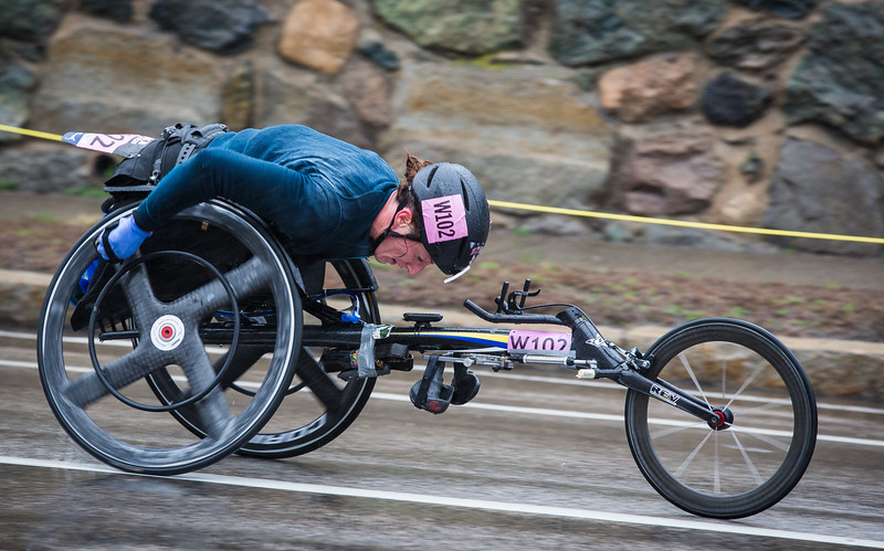 Women's Wheelchair Race
