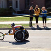 Leading wheelchair competitor