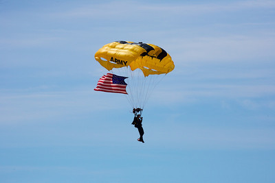 US Army Black Knights Parachute Team