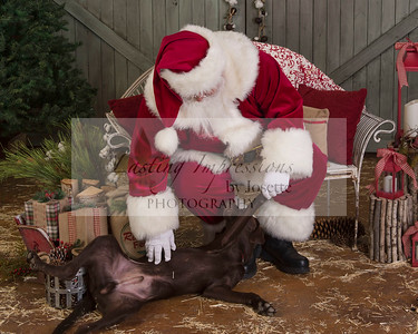 Boudreaux Visit with Santa