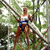 "Barbara Meyer of Minneapolis, MN, tries the bungi  bounce for the first time.<br /> The Boulder Creek Festival will continue on Sunday and Monday along the creek and Central Park.<br /> For more photos and a video, go to  <a href=""http://www.dailycamera.com"">http://www.dailycamera.com</a><br /> Cliff Grassmick / May 29, 2010"