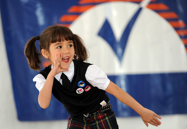 "Kira Taskey, 6, of Dance Dimensions from Longmont, stole the show at the Community Dance Stage at the Boulder Creek Festival on Sunday.<br /> For a video and more photos of the Creek Festival on May 26th, go to  <a href=""http://www.dailycamera.com"">http://www.dailycamera.com</a>.<br /> Cliff Grassmick / May 27, 2012"