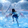"Kira Cassulo, 8, is able to walk on water in a bubble at the Boulder Creek Festival on Sunday.<br /> For a video and more photos of the Creek Festival on May 26th, go to  <a href=""http://www.dailycamera.com"">http://www.dailycamera.com</a>.<br /> Cliff Grassmick / May 27, 2012"