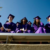 "Graduating Boulder High seniors listen to the commencement address during the commencement ceremony at Boulder High School, Saturday, May 22, 2010. <br /> <br /> Kasia Broussalian<br /> <br /> For a video of the graduation ceremony, please visit  <a href=""http://www.dailycamera.com"">http://www.dailycamera.com</a>"