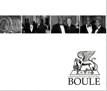 PHOTOBOOK Boule 50th Anniversary