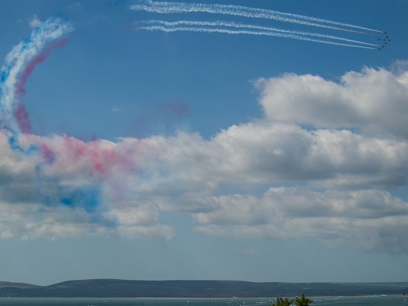 RAF Red Arrows, Bournemouth Air Festival 2014