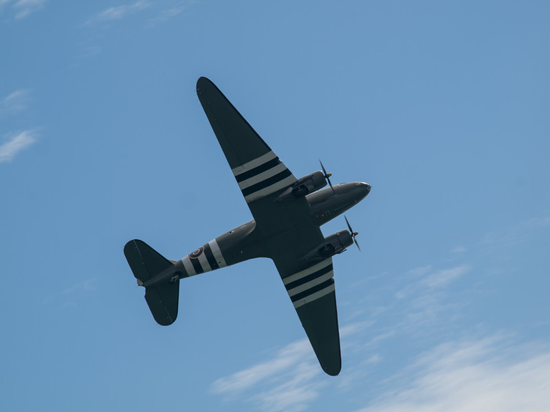 RAF Dakota C-47, Bournemouth Air Festival 2014