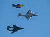 Hunter, Canberra & Sea Vixen, Bournemouth Air Festival 2014
