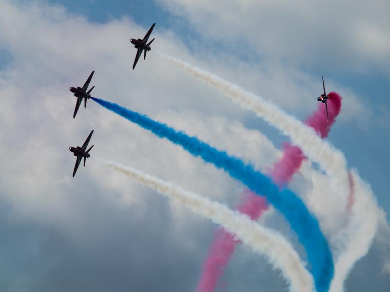 RAF Red Arrows, Bournemouth Air Festival 2014