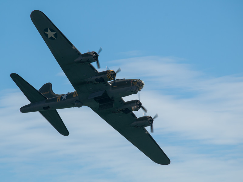 B17 Flying Fortress Sally B, Bournemouth Air Festival 2014
