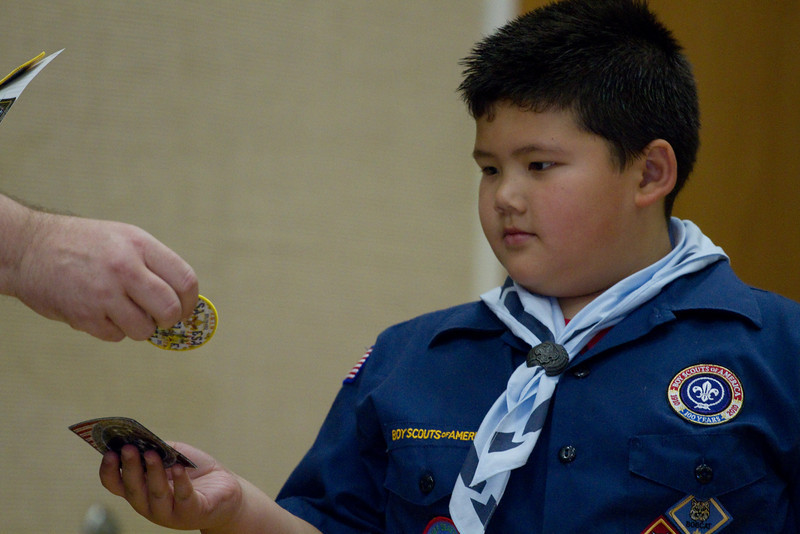 Cub Scout Pack Meeting - Aug 2010