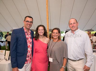Nantucket Boys & Girls Club Summer Groove, honorees Maureen Orth & Luke Russert, Nantucket, Massachusetts, August 17, 2019