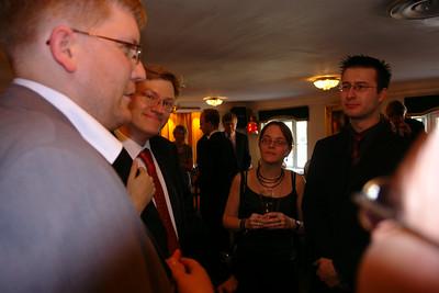 Håkan, Anders, Cláudia och Ronny