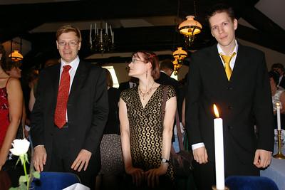 Daniel, Sanna och Anders
