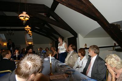 Susanne håller tal
