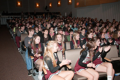Patriot photos by Scott Weldon Brandywine Heights H.S. wins a $25,000 Celebrate My Drive grant.