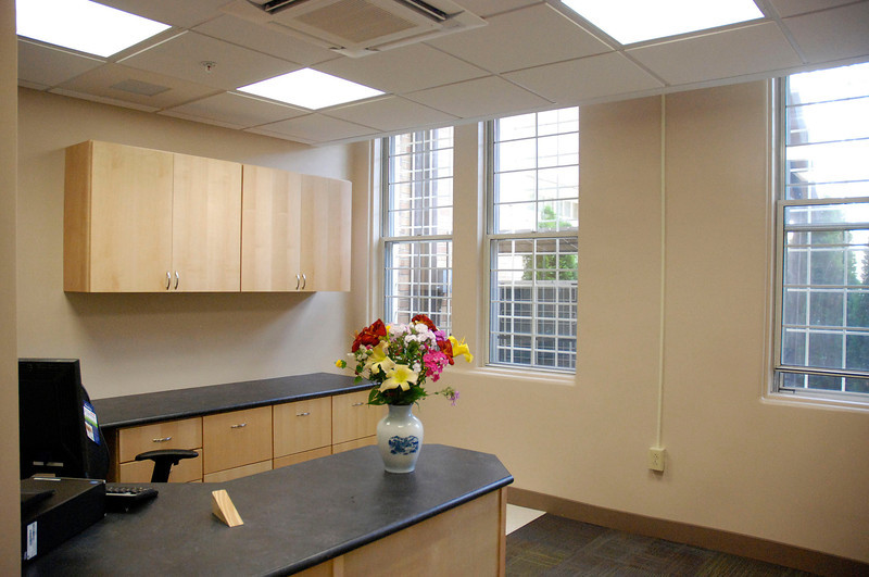 Kayla Rice/Reformer                                <br /> An office in the new pharmacy area at the Brattleboro Retreat.