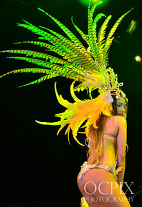 Carnaval Dancer at Club Nokia