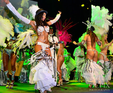 Brazilian Carnaval dancers in Los Angeles