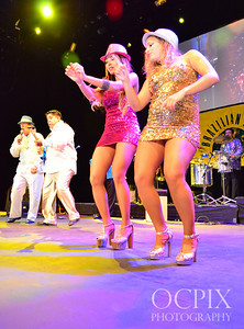 Dancing the night away at Club Nokia in Los Angeles