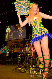 Dancer at Club Nokia during the Brazilian Carnaval in 2014