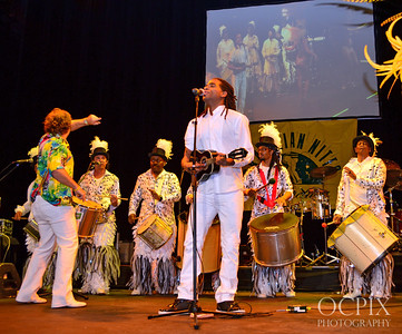 Musicians at Brazilian Carnaval in Club Nokia