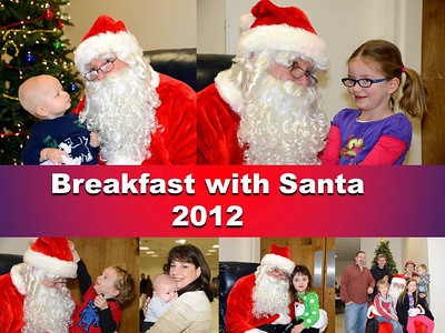 Breakfast with Santa 2012